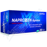 Naproxen Apotex 220mg cps. mol.  20