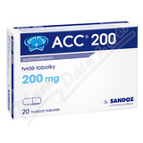 ACC 200 200mg cps. dur. 20x200mg