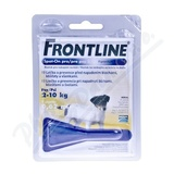 Frontline Spot On Dog S 1x1 pipeta 0. 67ml